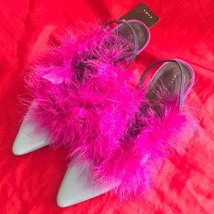 Zara heels.
